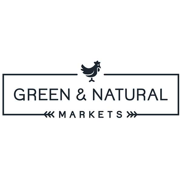 Green And Natural Market Logo